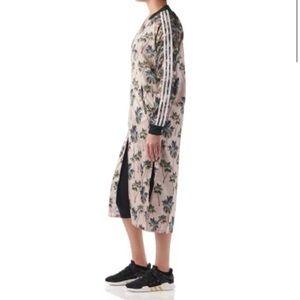 Adidas x Farm Tropical Satin Track Kimono NWT